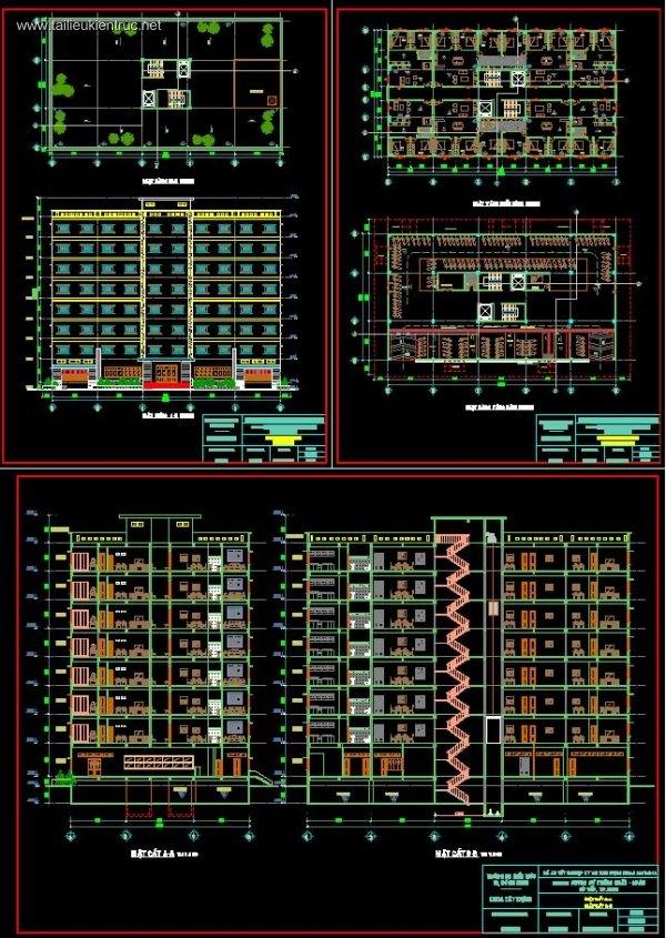 Đồ án tốt nghiệp - Thiết kế chung cư 8 Tầng Thống nhất - Gò Vấp