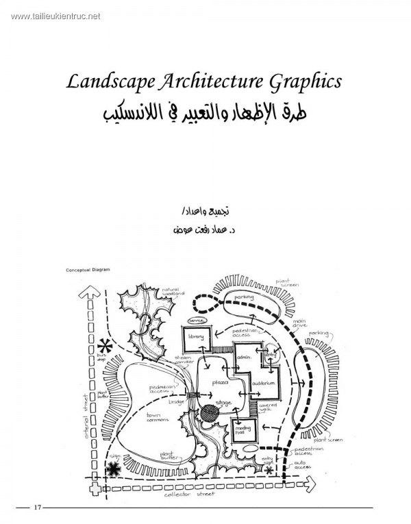 Graphics of landscape architecture (Tài liệu Kiến trúc cảnh quan)