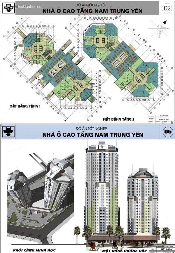 Đồ án tốt nghiệp kiến trúc sư - Thiết kế chung cư MS08