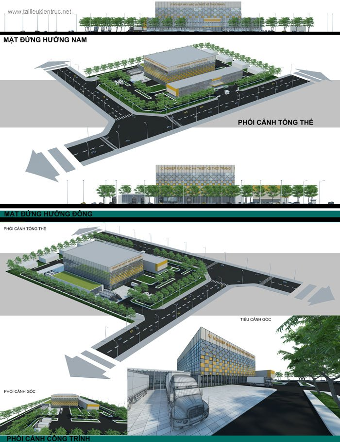 Đồ án công nghiệp 2 - Thiết kế nhà máy May mặc MS03