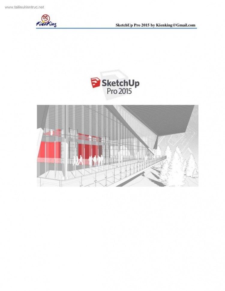 Giáo trình Sketchup pro 2015 - Kienking