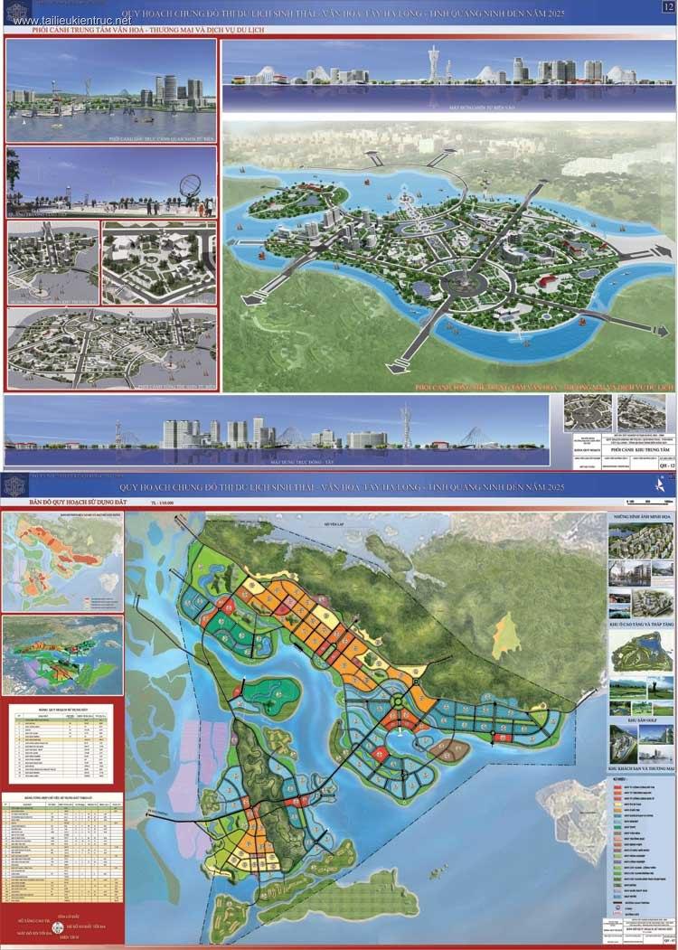 Đồ án tốt nghiệp kiến trúc - Quy hoạch đô thị du lịch sinh thái - văn hóa Tây Hạ Long - Quảng Ninh