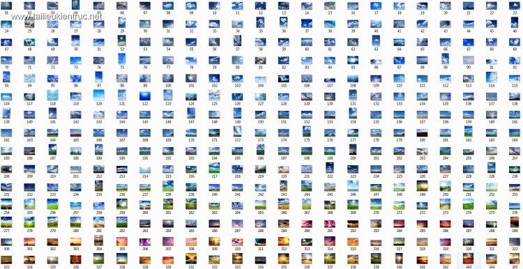 Tổng hợp 345 File Ảnh bầu trời cỡ lớn dùng để ghép phối cảnh P4
