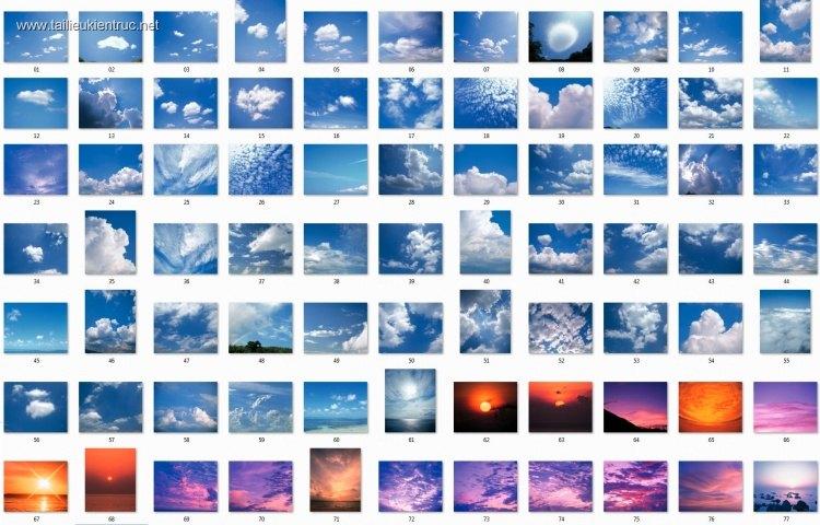 Tổng hợp 79 File Ảnh bầu trời cỡ lớn dùng để ghép phối cảnh P5