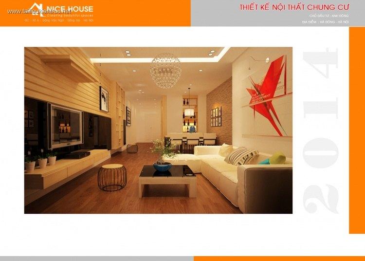 Hồ sơ thiết kế thi công nội thất chung cư Mẫu 008 của Nhà Đẹp 365