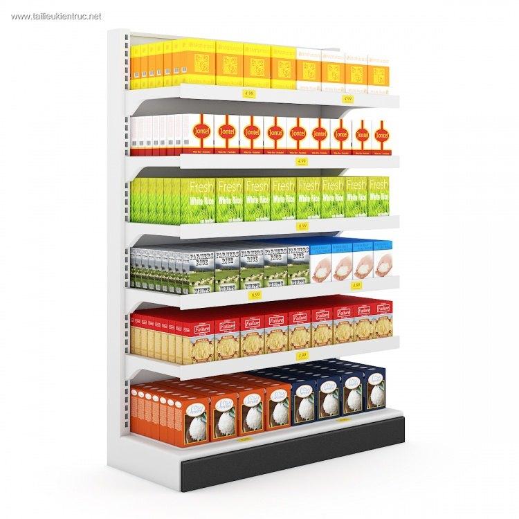 Thư viện 3d tổng hợp về các thiết bị đồ Gia dụng dùng trong Siêu thị P2