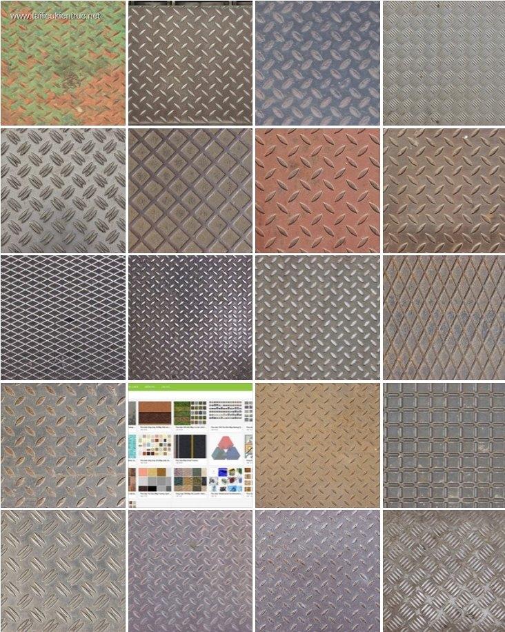 Tổng hợp 132 Map vật liệu Kim loại chất lượng full P2
