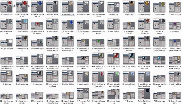 Hướng dẫn thông số Vật Liệu Vray trong 3dsmax Full toàn tập