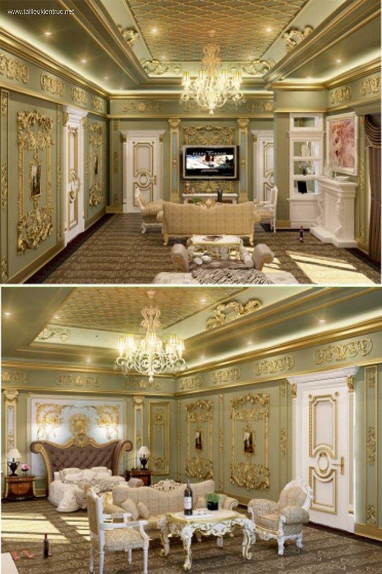 Phối cảnh phòng ngủ tân cổ điển hoàng gia đẹp full 3ds max 00035