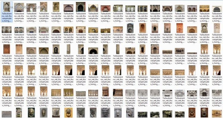 Thư viện tổng hợp 510 Ảnh Map về chi tiết Kiến trúc, hoa văn phù điêu, tượng...