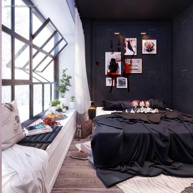 Phối cảnh phòng ngủ hiện đại và đẹp full 3ds max 00042