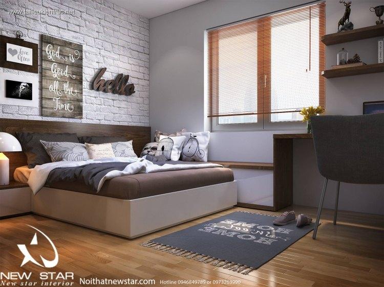 Sence Phòng Ngủ trẻ con 00009 - Thiết kế nội thất phong cách hiện đại