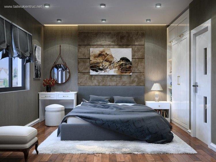 Phối cảnh phòng ngủ tân cổ điển đẹp full 3ds max 00045