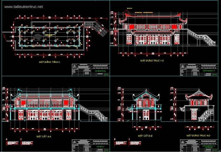 Hồ sơ thiết kế Nhà Hát múa rối