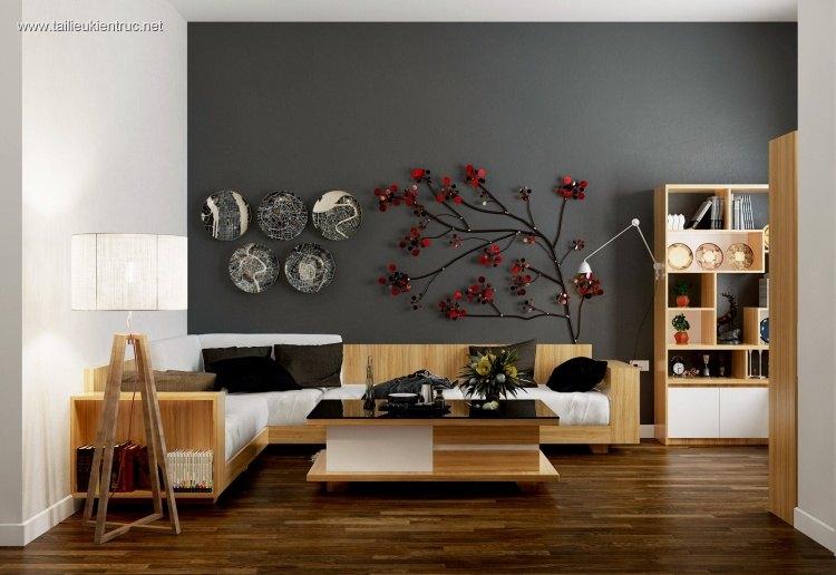 Phối cảnh nội thất 3D phòng khách Hiện đại và đẹp 00049