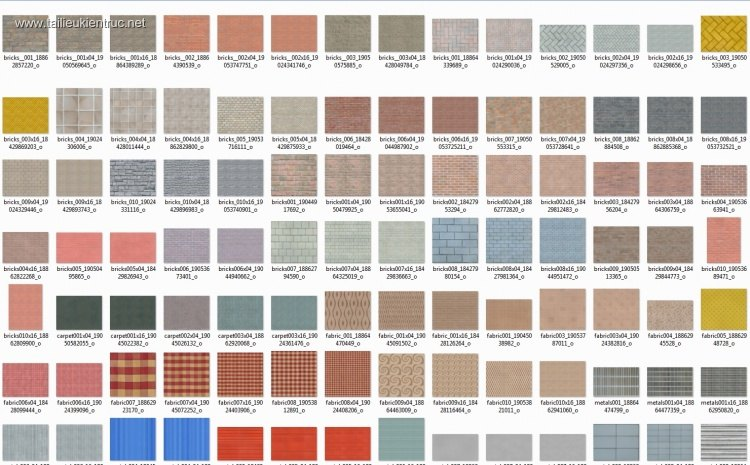 Thư viện 240 file ảnh tổng hợp Map gạch, ngói, đá, sỏi, gỗ, chất lượng cao #7