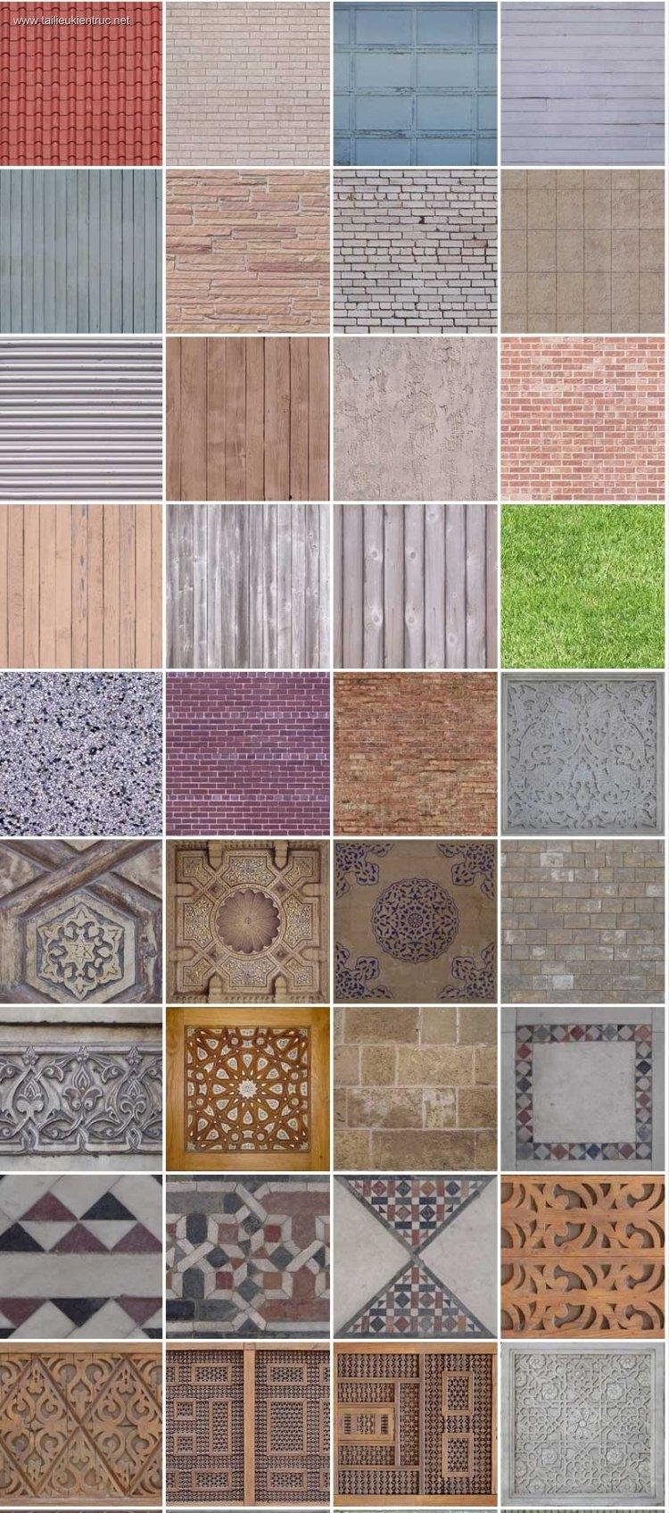 Thư viện 91 file ảnh tổng hợp Map gạch, ngói, đá, sỏi, gỗ, chất lượng cao #8
