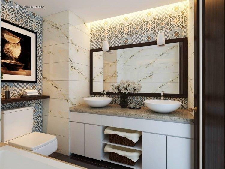 Sence Phòng tắm WC 05 - Thiết kế nội thất phòng tắm + Wc file 3dsmax
