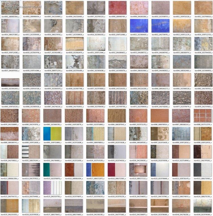 Thư viện 121 file ảnh tổng hợp Map Tường các loại chất lượng cao p1