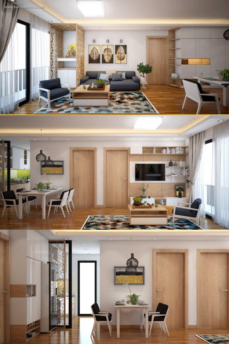 Phối cảnh nội thất 3D Phòng khách hiện đại và đẹp 00066