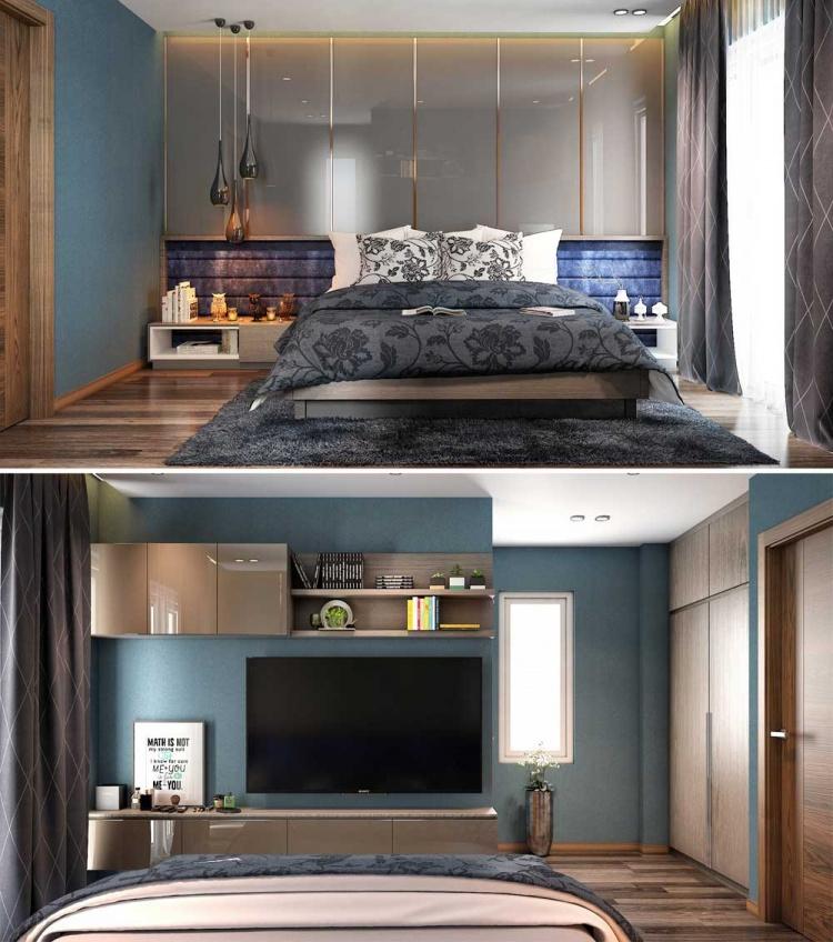 Phối cảnh phòng ngủ Master phong cách Hiện đại full file 3dsmax 00066