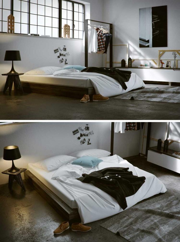 Phối cảnh phòng ngủ Master phong cách Hiện đại full file 3dsmax 00069