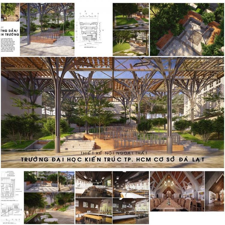 Tổng hợp đồ án đạt giải Loa Thành 2015 - Thiết kế nội ngoại thất trường ĐH Kiến trúc TPHCM