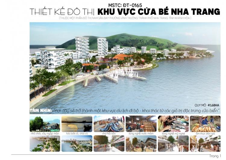 Đồ án tốt nghiệp quy hoạch - Quy hoạch khu vực Cửa Bé - Nha Trang