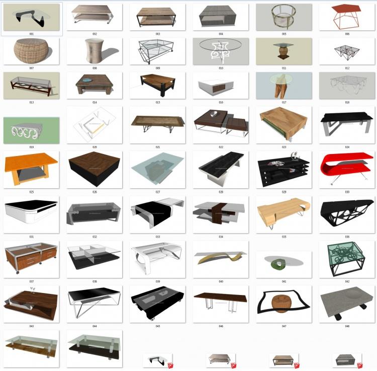 Thư viện 3d sketchup Tổng hợp 50 Model bàn nước đẹp full P1