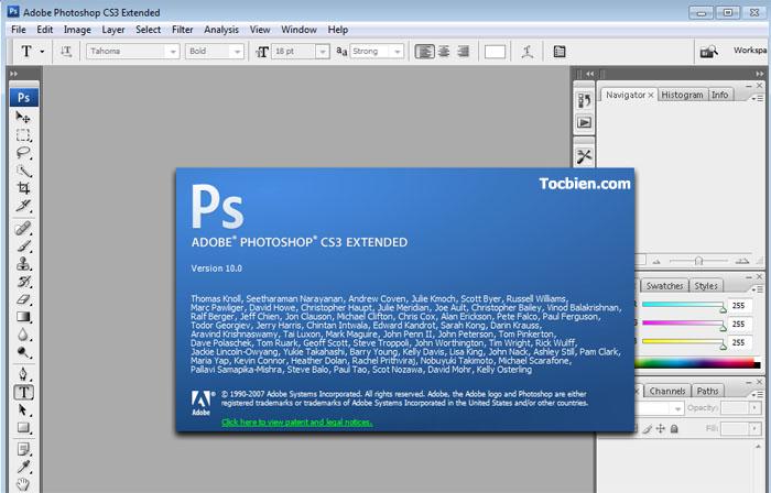 Phần mềm Photoshop CS3 Portable không cần cài đặt