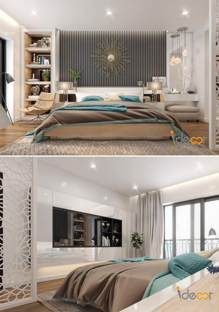 Phối cảnh phòng ngủ phong cách Hiện đại đẹp full file Max 00079