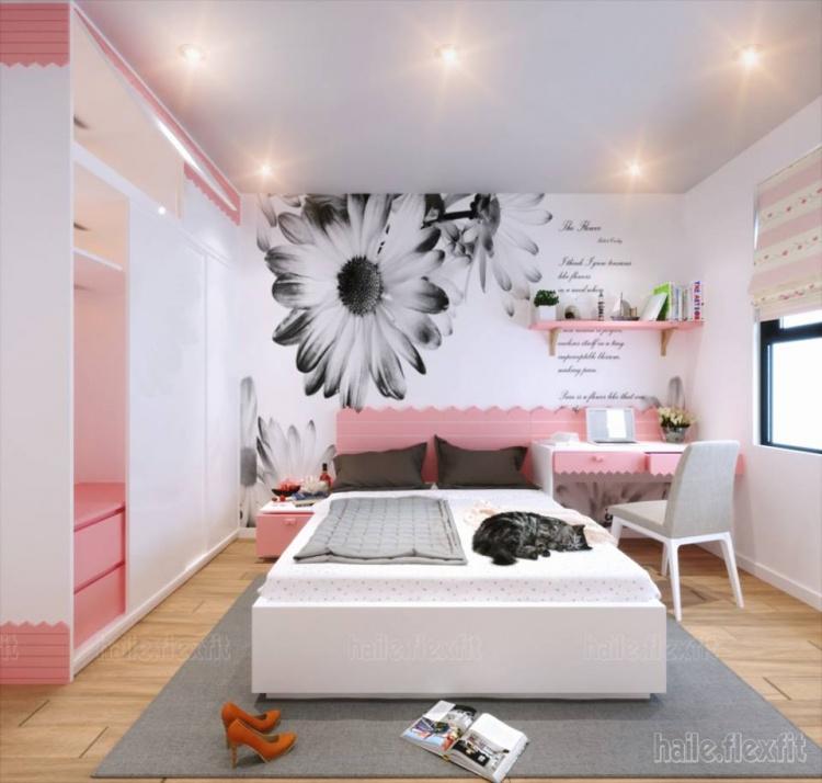 Sence Phòng Ngủ trẻ con 00020 - Thiết kế nội thất phòng ngủ con phong cách hiện đại