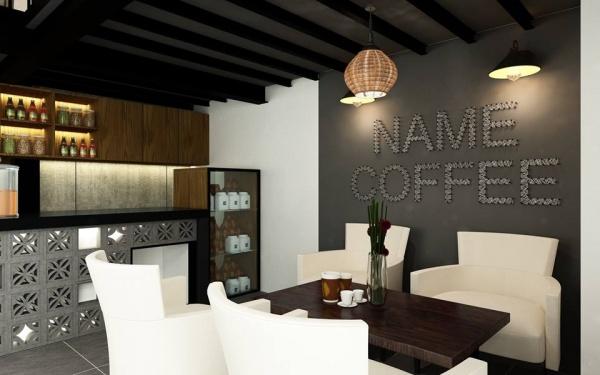 Thư viện 3dsmax Phối cảnh nội thất quán Coffe 14