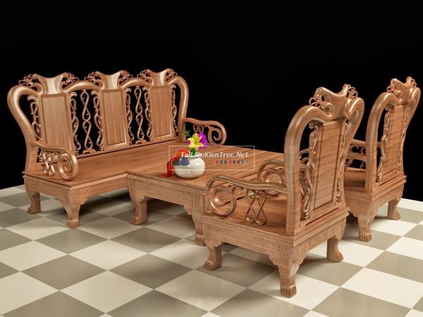 Thư viện 3d Model bộ bàn ghế Đồng kị tiếp theo