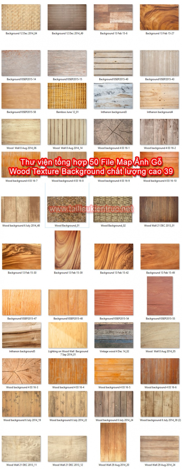 Thư viện tổng hợp 50 File Map Ảnh Gỗ Wood Texture Background chất lượng cao 39