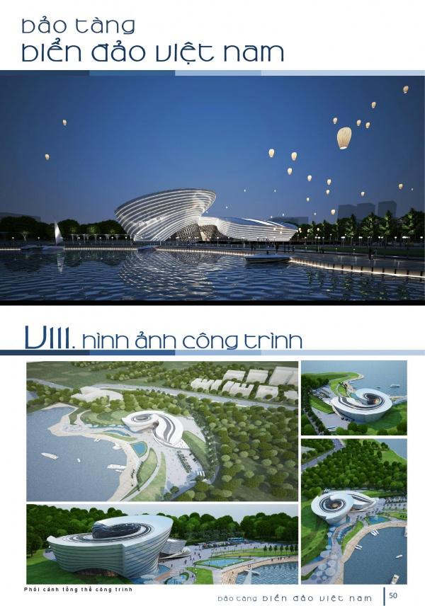 Đồ án tốt nghiệp kiến trúc - Bảo tàng biển đảo Việt Nam