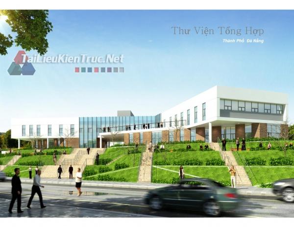 Giải thưởng kiến trúc Quốc Gia 2016 - Lần 6 - Thư viện tổng hợp Tp. Đà Nẵng