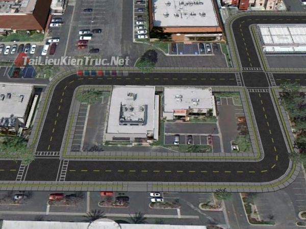 Tổng hợp Model 3D Roads Set Free download