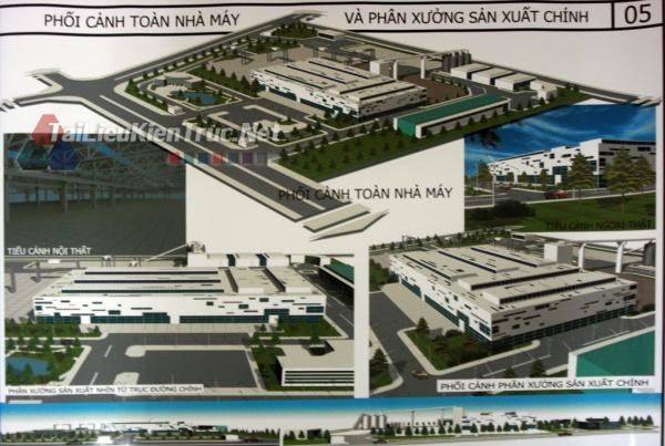 Đồ án công nghiệp nhà máy sản xuất cấu kiện bê tông MS42