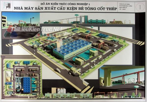 Đồ án công nghiệp nhà máy sản xuất cấu kiện bê tông- Phạm Ngọc Cường MS43