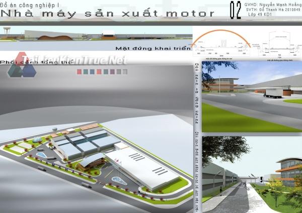 Đồ án công nghiệp nhà máy sản xuất MOTO- Đỗ Thanh Hà MS52