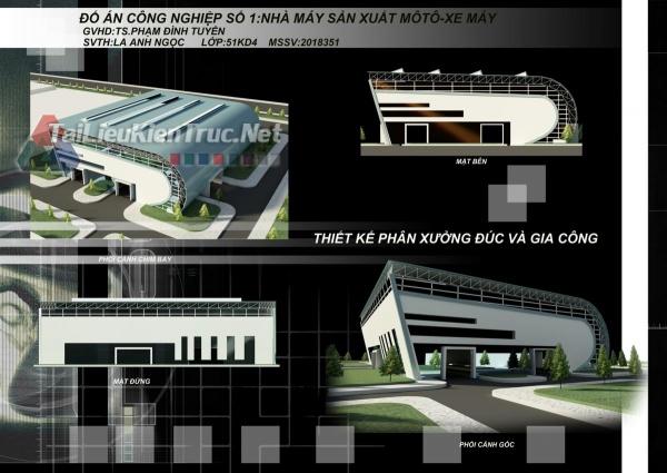 Đồ án công nghiệp nhà máy sản xuất oto xe máy- Lã Ánh Ngọc MS61