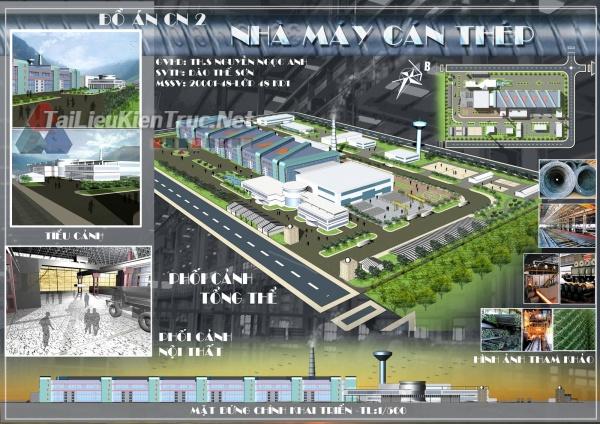 Đồ án công nghiệp nhà máy cán thép 5 MS65