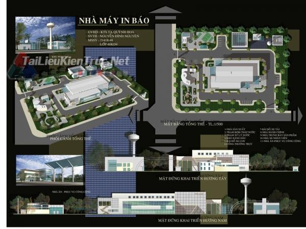 Đồ án công nghiệp nhà máy in báo 07 MS88
