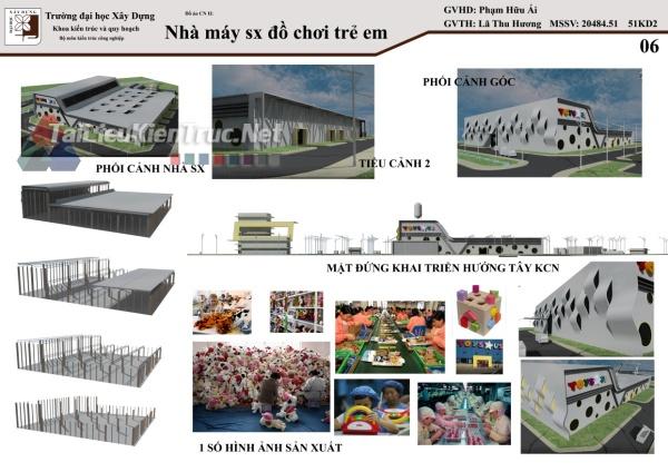 Đồ án công nghiệp nhà máy sản xuất đồ chơi 04 MS109