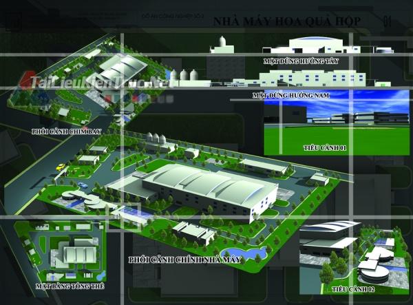 Đồ án công nghiệp nhà máy sản xuất hoa quả hộp 14 MS128