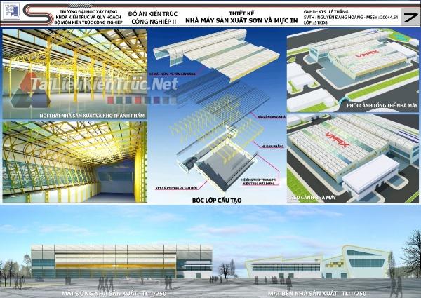 Đồ án công nghiệp nhà máy sản xuất sơn và mực in MS131