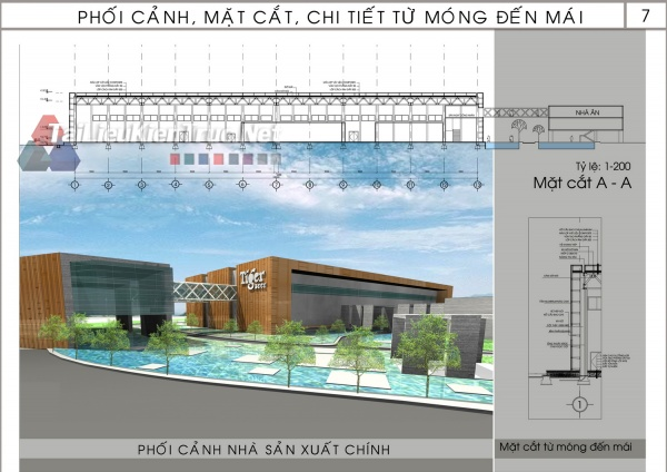 Đồ án tổng hợp quy hoạch khu công nghiệp kiêu kỵ- Thiết kế nhà máy sản xuất bia Tiger