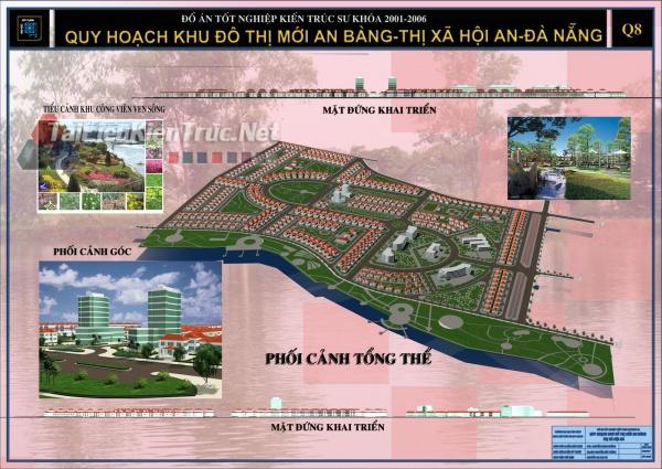 Đồ án tốt nghiệp KTS Quy hoạch khu đô thị mới An Bằng Hội An- Đà Nẵng