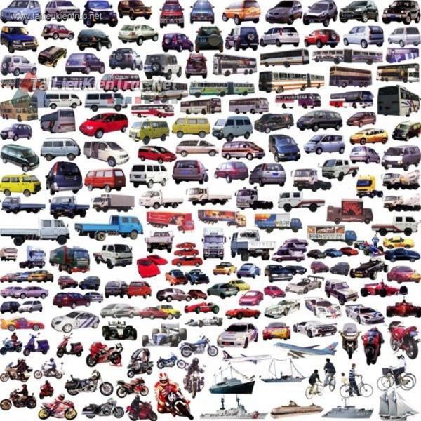 Thư viện Photoshop tổng hợp về Các loại ô tô P3
